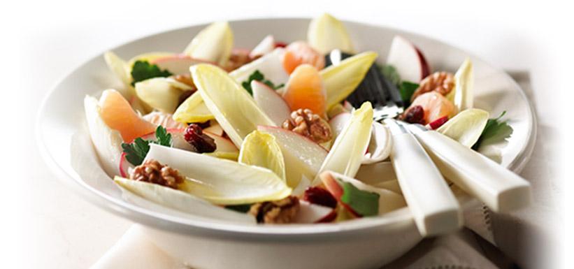 Salade d'hiver aux endives